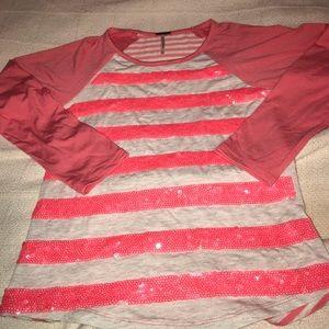 Other - Girls M 3/4 sleeve shirt